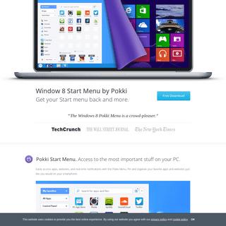 Windows 8 Start Menu - Pokki
