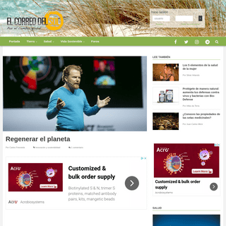 El Correo del Sol - El medio de información y la comunidad de la ecología y la salud