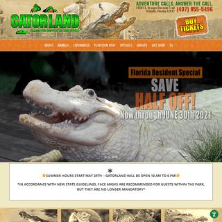 A complete backup of https://gatorland.com