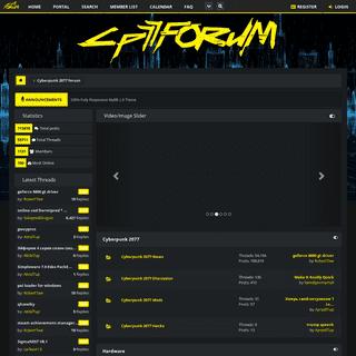 Cyberpunk 2077 forum