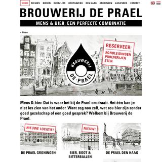 Home - Brouwerij de Prael