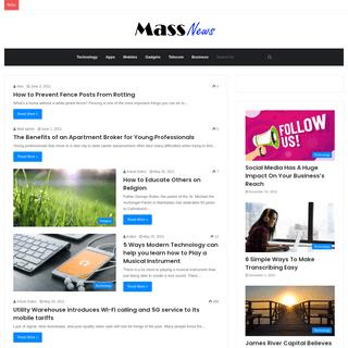 Mass News - News for the masses