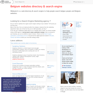 Belgium Web Directory and Search Engine