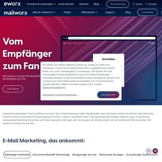 Mehr erreichen. Zielsicheres E-Mail Marketing