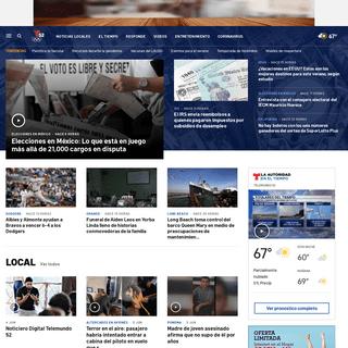 Telemundo 52 – Noticias, El Tiempo y Entretenimiento de Los Angeles – Telemundo Los Angeles