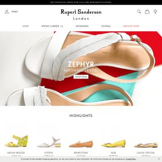 Rupert Sanderson - Luxury Designer Shoes