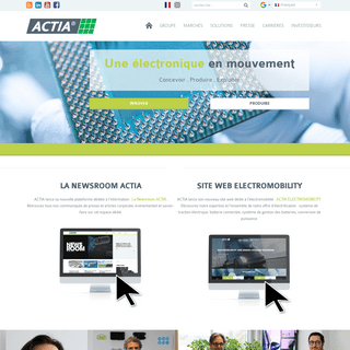 ACTIA Group - Accueil
