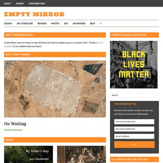 Empty Mirror • a literary magazine