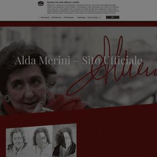 Alda Merini – Sito Ufficiale