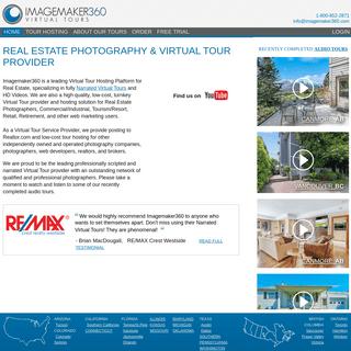 Virtual Tour Hosting Platform for Real Estate