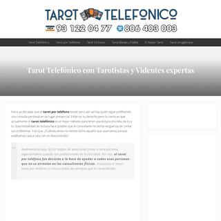 ⊛ Tarot Telefónico 🧡 Consulta con las mejores Tarotistas y Videntes 🥇