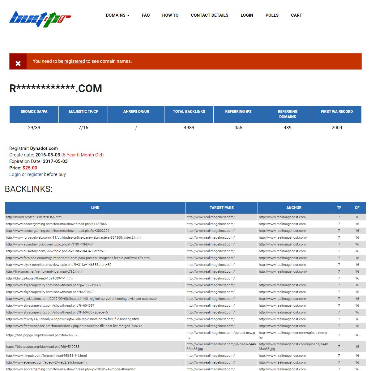 realimagehost.com - Buy-PR.com - Domains with high metrics.