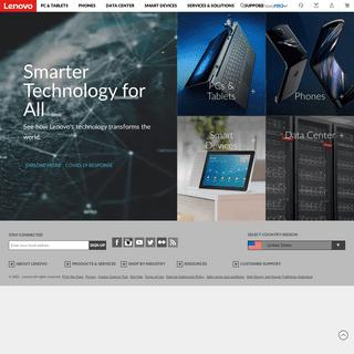 Lenovo Official US Site - Laptops, PCs, Tablets & Data Center - Lenovo US