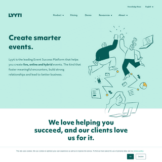 All-in-one platform for virtual, in-person and hybrid events – Lyyti