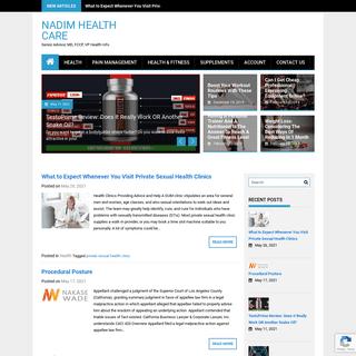 Nadim Health Care - Senior Advisor, MD, FCCP, VP Health Info