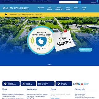Marian University - Graduate & Undergraduate Programs -Marian University