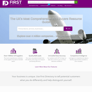 First Directory - 1st for Business Information