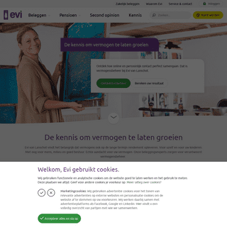 Online vermogensbeheer, persoonlijke aandacht - Evi van Lanschot