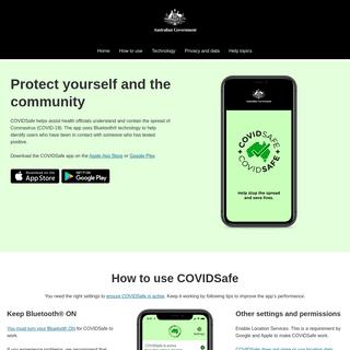 A complete backup of https://covidsafe.gov.au