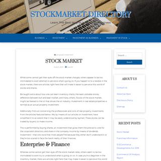 Stockmarket-Directory