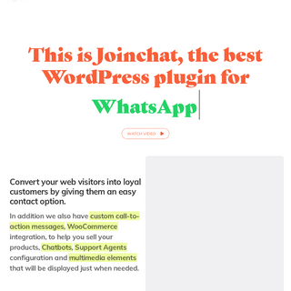 The best WordPress plugin for WhatsApp - Join.chat