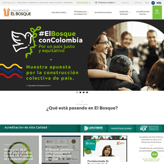 Universidad El Bosque - Universidad El Bosque