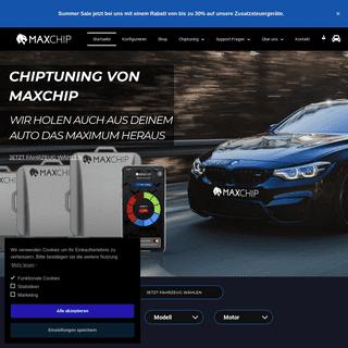 35- Mehr Leistung Mit Chiptuning - Motortuning Von Maxchip