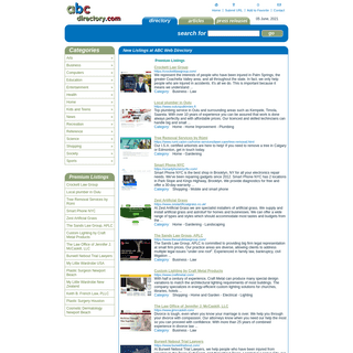 ABC Directory - Free Web Directory - Business Web Resources