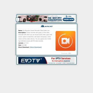 DU Recorder Screen Recorder Video Editor Live v.v1.7.5.5 Download Application