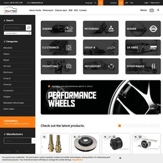 4turbo - independent distributor of Subaru, Lancer EVO and Motorsport parts
