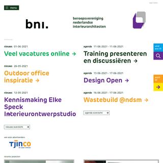 BNI Beroepsvereniging Nederlands Interieurarchitecten
