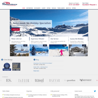 The Tailor-made Ski Specialists - Ski Independence