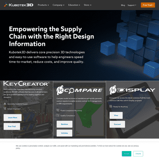 Precision Software to Accelerate Manufacturing - Kubotek3D