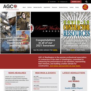 Home - AGC of Washington