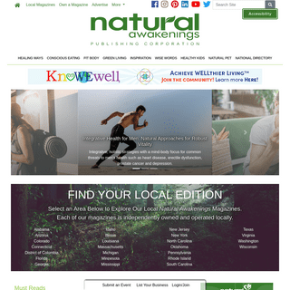 Natural Awakenings Magazine - Healthy Living Healthy Planet