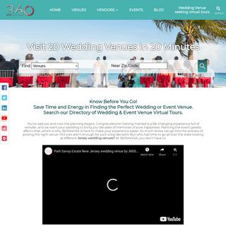 Wedding Venues virtual tours - 360SiteVisit