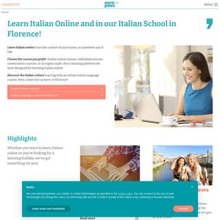 Europass - Italian Language School in Florence, Italy & Online