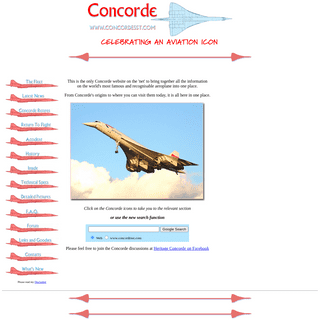 CONCORDE SST - The Definitive Concorde Aircraft Site on the Internet