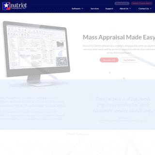 Computer Assisted Mass Appraisal (CAMA) - Patriot Properties