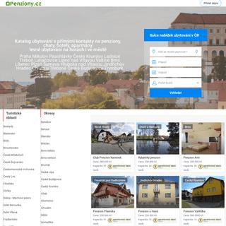 Penziony.cz – Levné ubytování, hotely, apartmány, pensiony, chaty