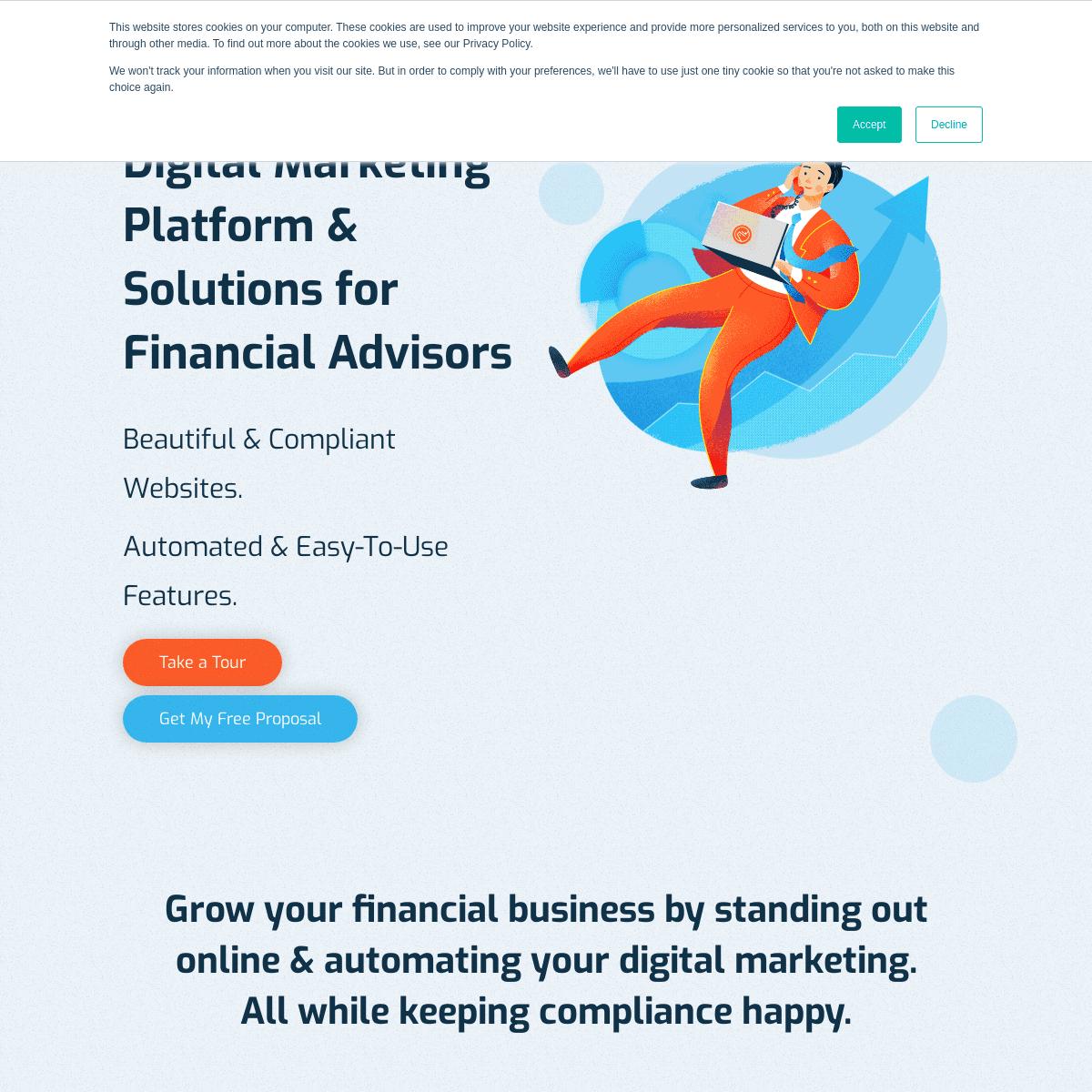 Financial Website Design & Marketing
