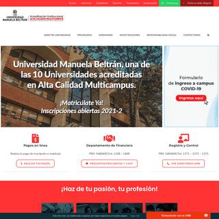 UMB – Carreras profesionales en Bogotá
