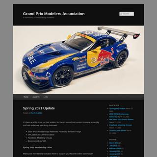 Grand Prix Modelers Association - A community of motor racing modelers