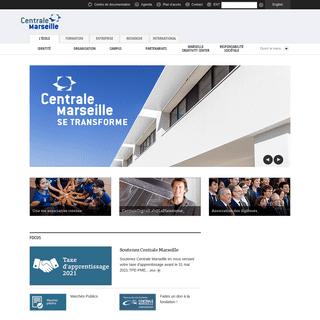 Actualités - Centrale Marseille