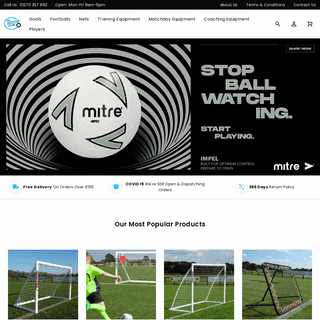 Football Equipment - Shop Football Gear Online - The Soccer Store