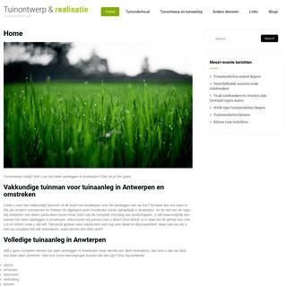 Tuinontwerp & realisatie – Tuinarchitectuur