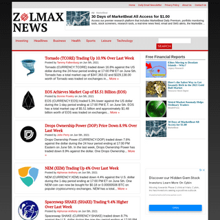 A complete backup of https://zolmax.com