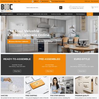 Kitchen Cabinets Online Wholesaler - Discount RTA Cabinets