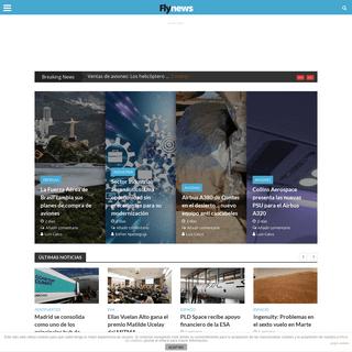 Fly News, información aeroespacial y de defensa en español - Fly News