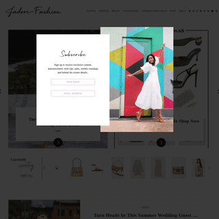 Jadore-Fashion - A blog about personal style and fashion